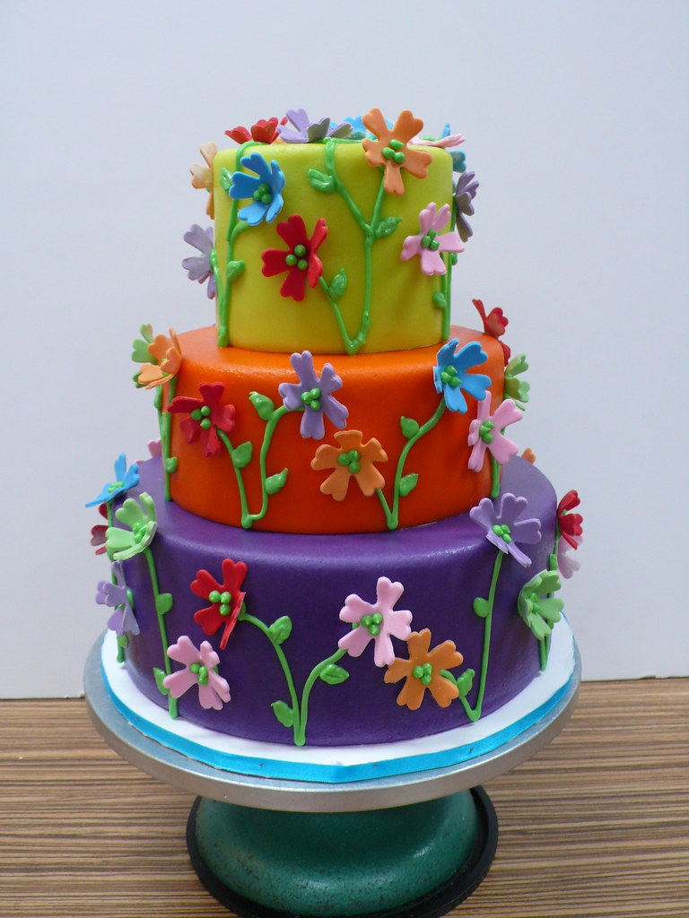 Garden Party Cake Images : CAKE Amsterdam - Cakes by ZOBOT s most interesting Flickr ...