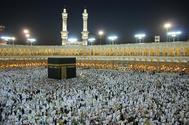Makkah - Kaaba at Night 2 | Flickr - Photo Sharing!