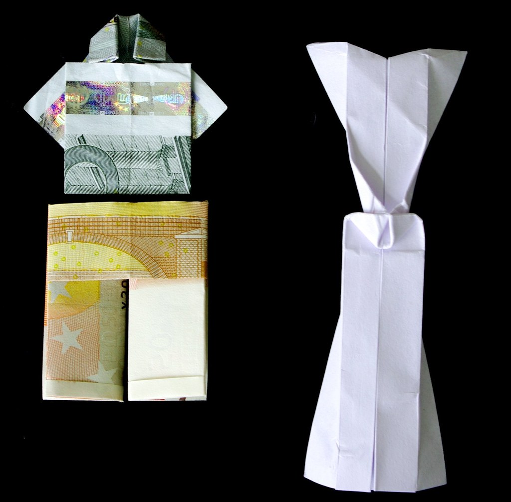 25 Money Origami Tutorials | 3D Dollar Bill Crafts | 1006x1024