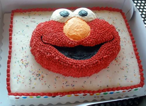 Gâteau d'anniversaire Elmo