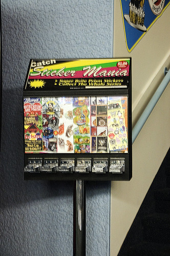 Sticker Vending Machine