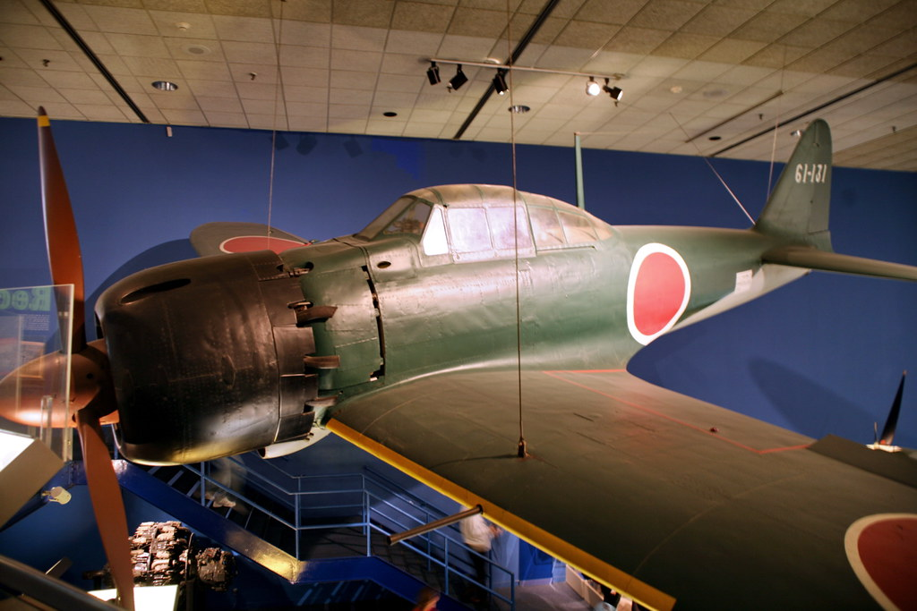 Mitsubishi A6M5 Reisen (Zero Fighter) Model 52 ZEKE