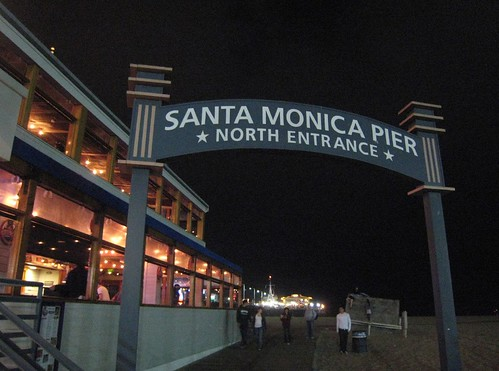 Santa Monica Pier, night IMG_7643