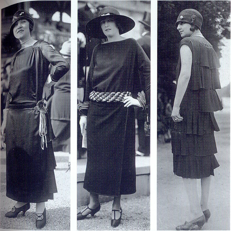 The Flapper Girl: Little black dresses, 1920s