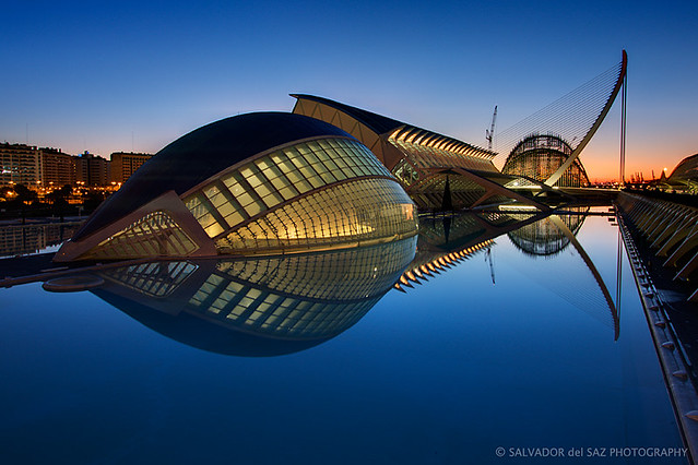The new look of the City of Arts and Sciences