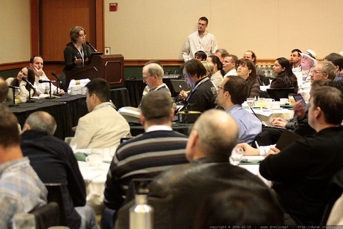 susan moskwa speaking   on site insight! technical seo advice from the pros   sempdx searchfest 2009    MG 9367