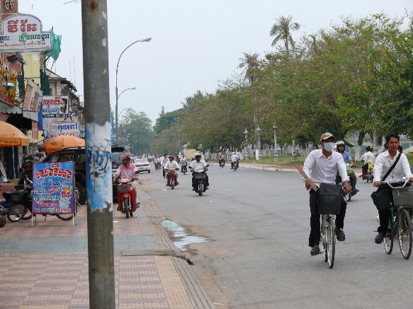 Battambang streetscape by CC user duhangst on Flickr