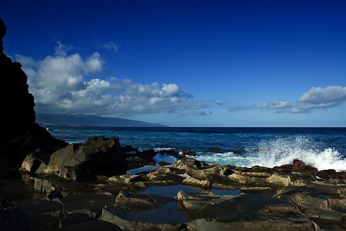 blue sea portugal azul geotagged mar rocks waves tidepool ondas azores açores rochas kahlilgibran sãomiguel ribeiragrande jorgecardoso bandejo geo:lat=37820718 geo:lon=25538363 poçasdemaré