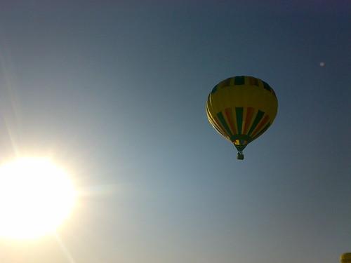 Surcando el cielo