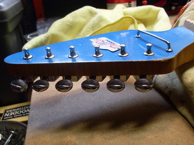 Photo:New Tuners Side By Roadside Guitars