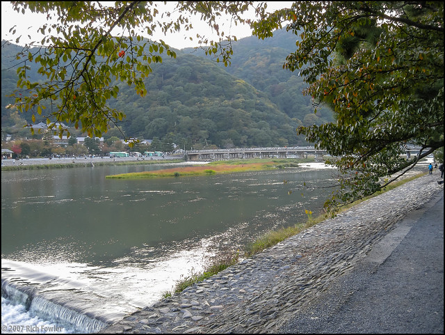 Arashiyama-- Ohi River