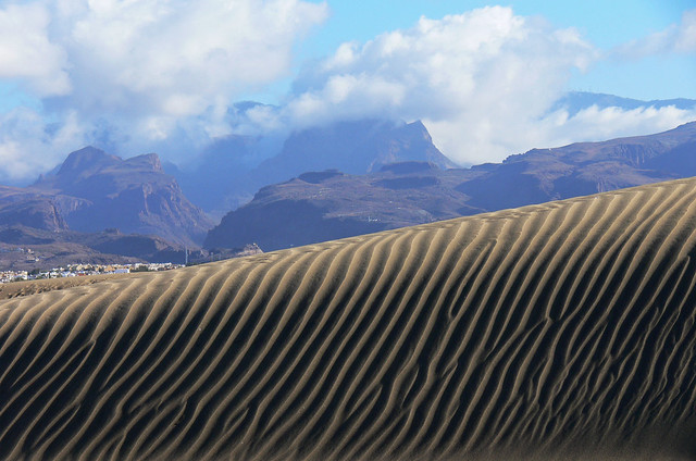 Dunas Dunes of Maspalomas on Gran Canaria