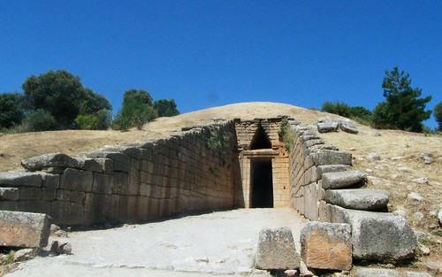 holiday geotagged european fuji tomb roadtrip greece mycenae tholos mykines treasuryofatreus s8000fd μυκήνεσ geo:lat=37726754 geo:lon=22754155
