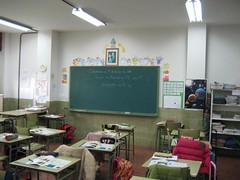 Classroom in Spain