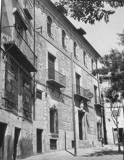 Sanatorio Soliss en la Plaza de San Justo (Toledo). Fondo Rodríguez
