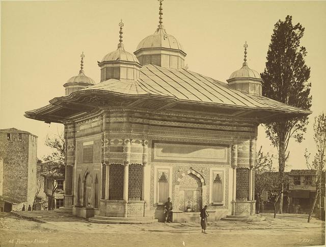 Constantinople. Fountain of Sultan Ahmet III  Flickr ...