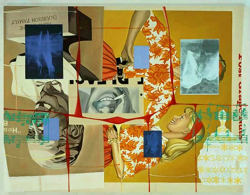 David Salle-Bigger Rack by Art Images Directory