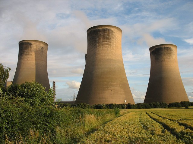 Fiddlers Ferry Cooling Towers, Widnes, England
