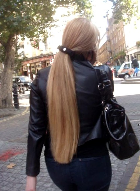 Longhair Ponytail In Full Length A Gallery On Flickr
