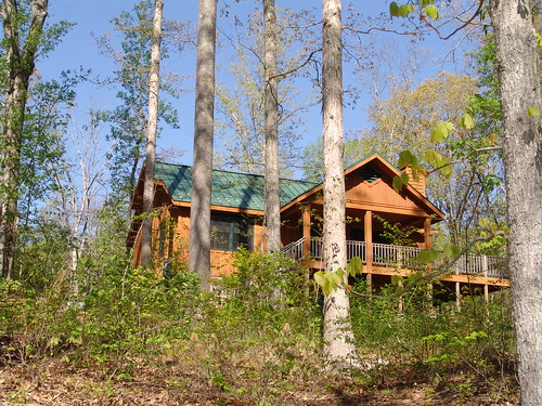 Two bedroom cabin at Bear Creek Lake State Park