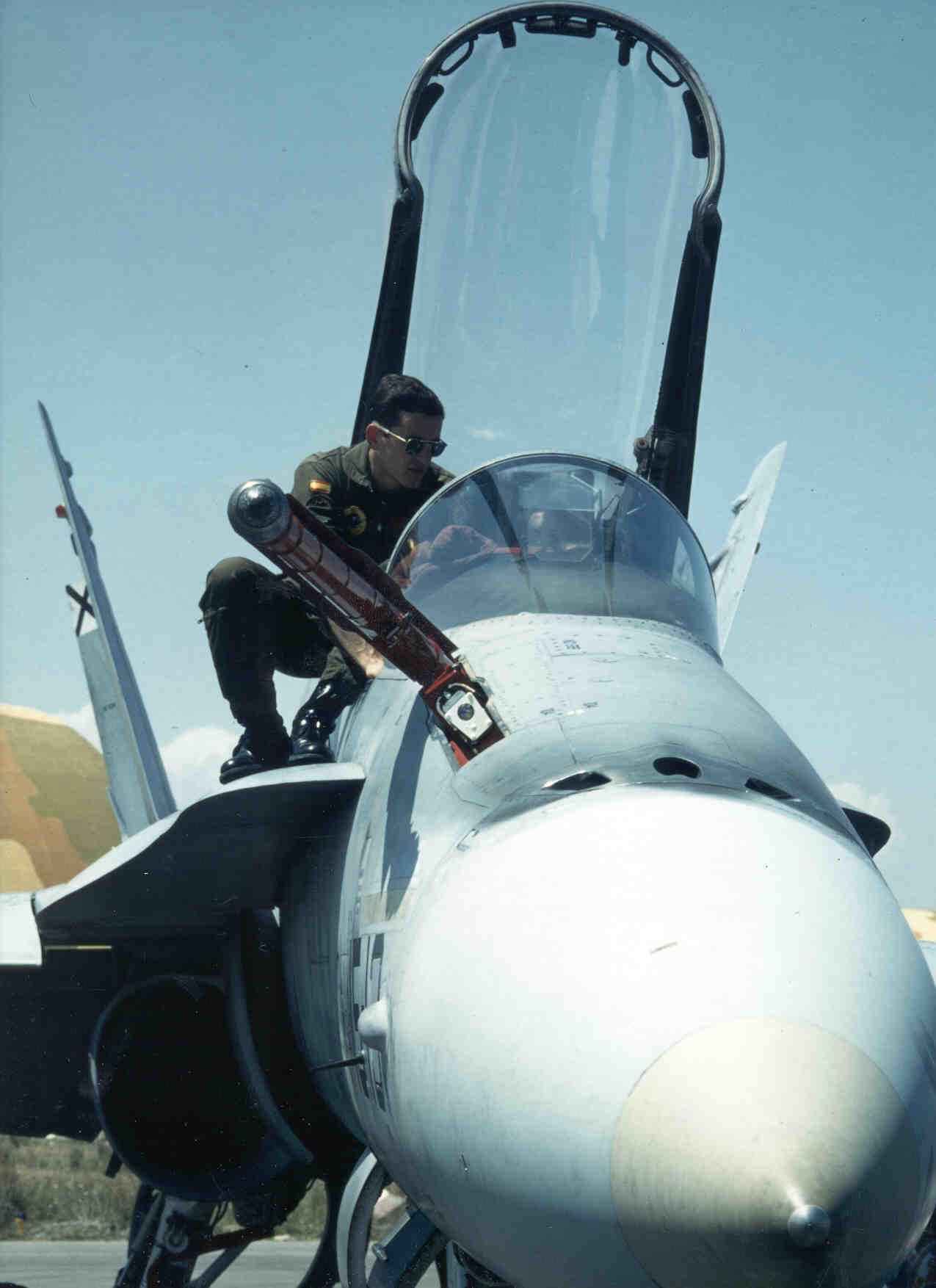 F-18,Llanos, Albacete.