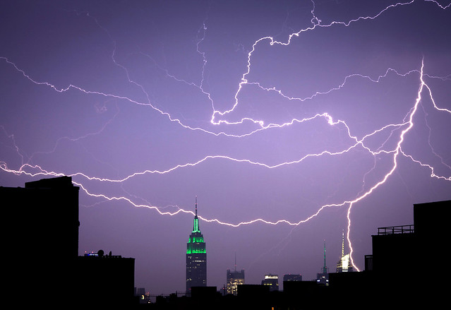 Lightning and the Empire State