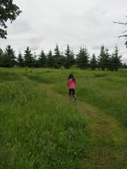 Olivia on Nature Trail