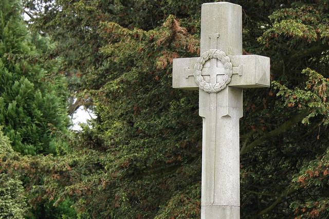 War memorial, Church Road, Great Urswick, near Ulverston, Low Furness, Cumbria, UK
