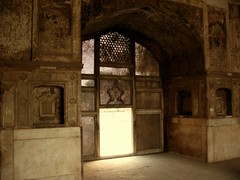 Courtyard at Lahore Fort - III