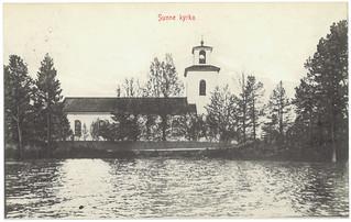Sunne kyrka (ca. 1914)