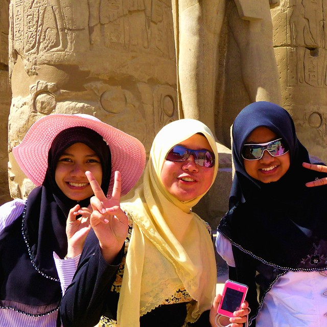 Us Happy Girls in Egypt ....