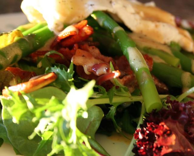 Warm Asparagus & Mushroom Salad   Flickr - Photo Sharing!