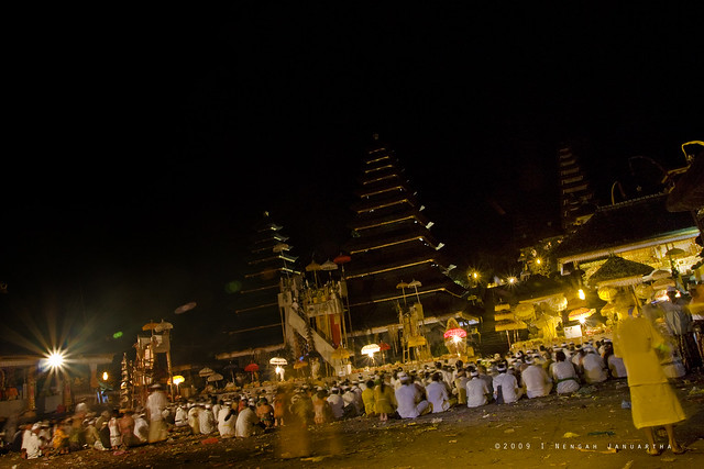 Bali Images : Penataran Agung, Besakih during Panca Walikrama 2009, which is held each 50 years