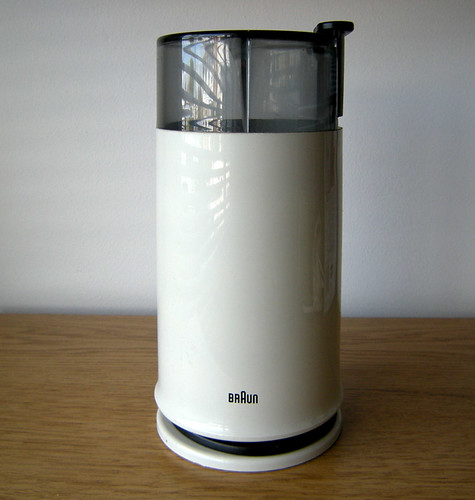 Braun Coffee Grinder ~ Moved permanently
