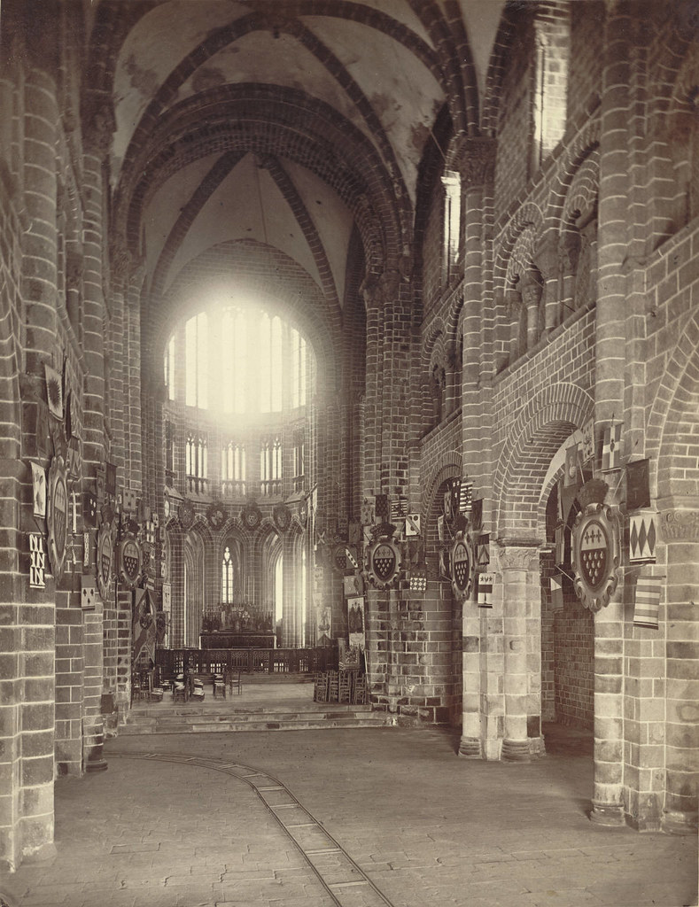 Mont Saint Michel Abbey Church Interior Collection A D Flickr