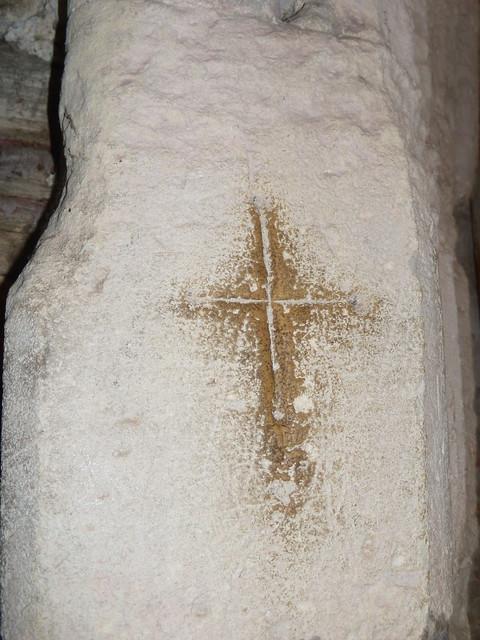 Crusader's mark, Bosham Church
