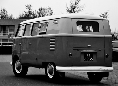 Old campervan