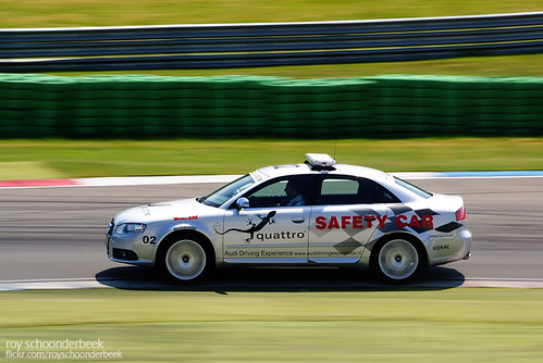 Audi S4 Safety Car