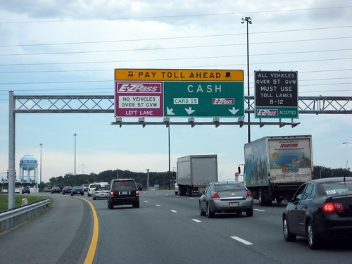 Toll Ahead (JFK Highway, Maryland)