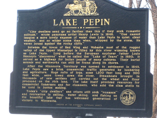 lake pepin historic marker flickr photo sharing. Black Bedroom Furniture Sets. Home Design Ideas