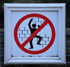 Don't Climb the Castle