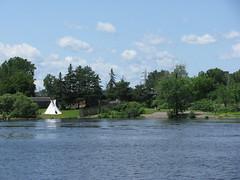 A photograph of Victoria Island in Centretown West / Une photo de l'île Victoria  dans le secteur ouest du centre-ville