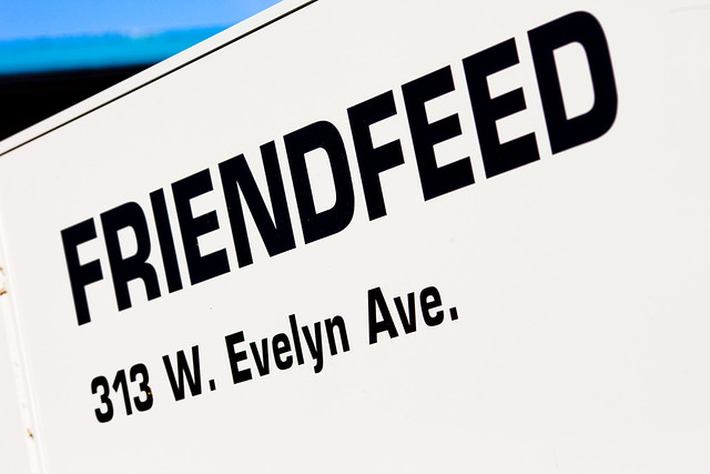 FriendFeed UI Briefing, April 2009