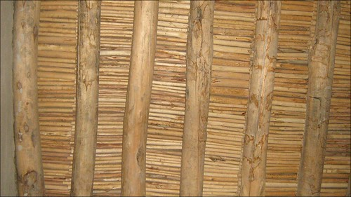 Ceiling With Mud and Bamboo