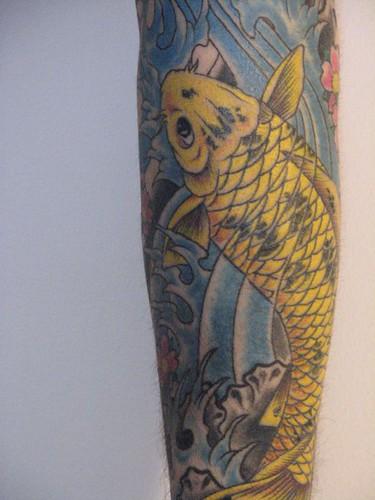Koi tattoo 50 fotos taringa for Carpa koi negra