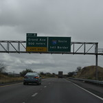 Approaching Mexico Border,  I-19 Southbound, Nogales, Arizona