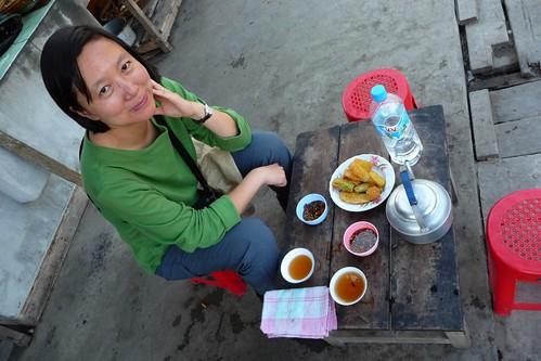 Tea Shop/stall - Bhamo, Myanmar Burma
