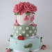Cath Kidston cake by cakejournal