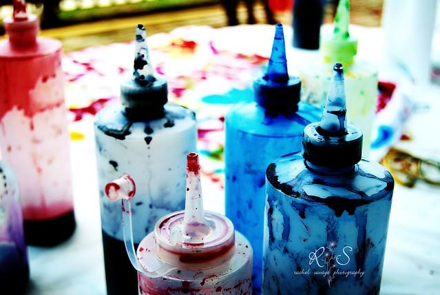 tie dye bottles flickr photo
