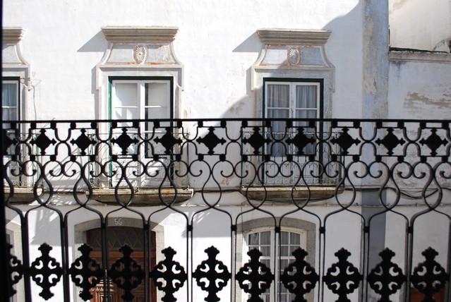 windows, Évora, Jul 2008
